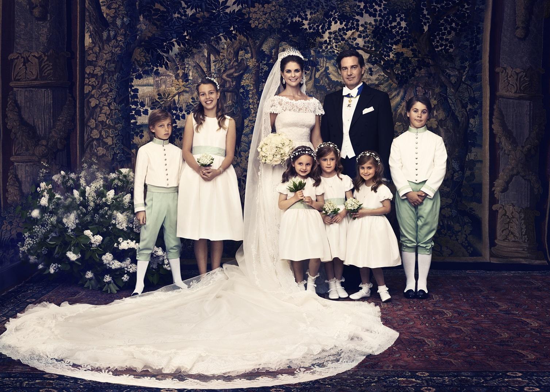 Prinses Madeleine En Christopher
